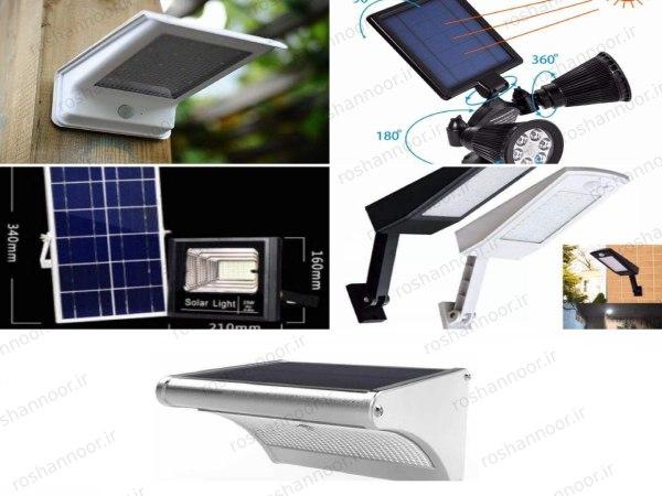چراغ خورشیدی ال ای دی