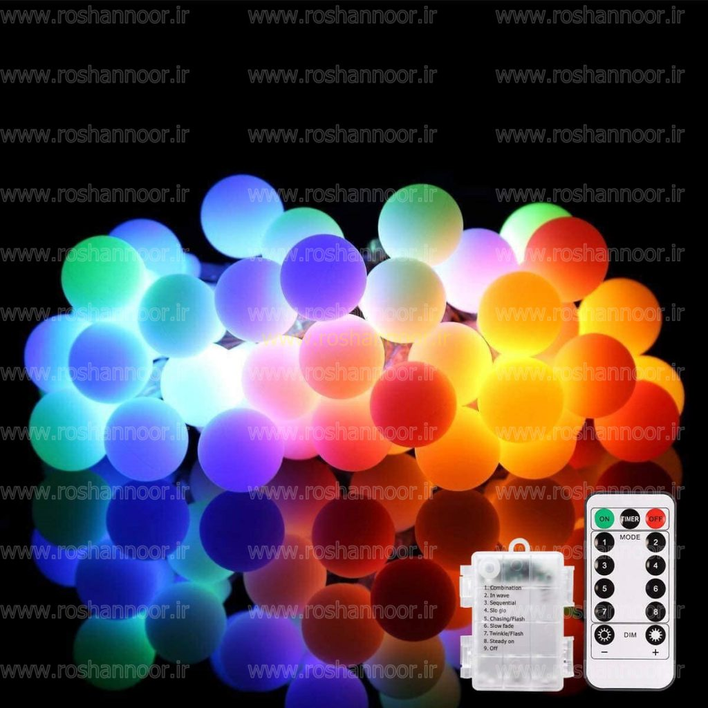 نوع چیپ LED استفاده شده در لامپ ال ای دی رنگی از نوع SMD می باشد که زاویه پخش بالایی دارد و طول عمر لامپ ال ای دی رنگی در حدود 25 هزار ساعت است.