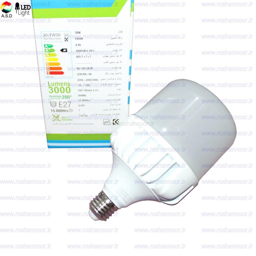 لامپ ال ای دی تک تاب دارای سبد محصولاتی کاملی می باشد که گستره وسیعی از محصولات را تولید می کند. لامپ ال ای دی تک تاب در مدل ها و توان های مختلف در بازار موجود می باشد.