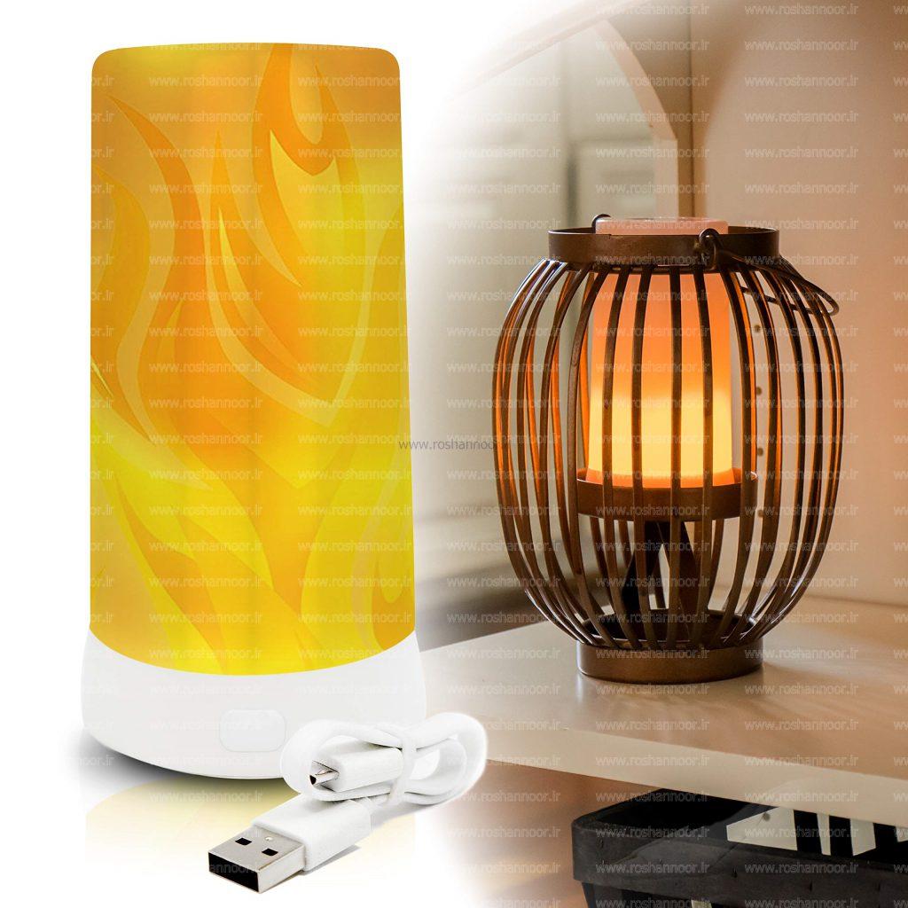 خرید لامپ ال ای دی طرح آتش و استفاده از آن در فضای منازل می تواند به زیبایی بصری محیط، کمک شایانی بکند.