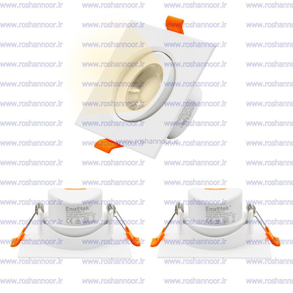 لامپ هالوژن ال ای دی سقفی توکار مدل 034 در دو مدل با چیپ های SMD و COB از طریق این نمایندگی فروش، توزیع می شود که خریداران گرامی با توجه به نیاز خود می توانند آن را انتخاب نمایند.