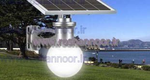 چراغ خورشیدی حیاط
